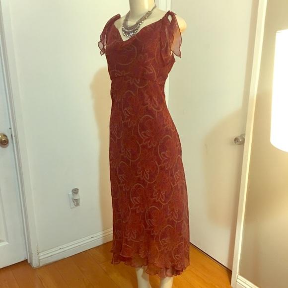 Vintage Dresses   Paisley Dress   Poshmark